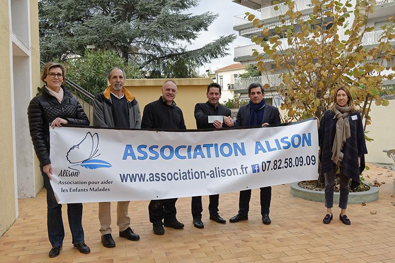 Solidarité : Remise des chèques aux Associations
